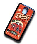 KOOLART PETROLHEAD SPEED SHOP Design For Retro Red BMW E30 3-Series M3 Case Cover Fits Samsung Galaxy S5